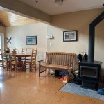 Dining and Wood Stove